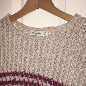 abercrombie kids Shirts & Tops - Girls cropped sweater vest